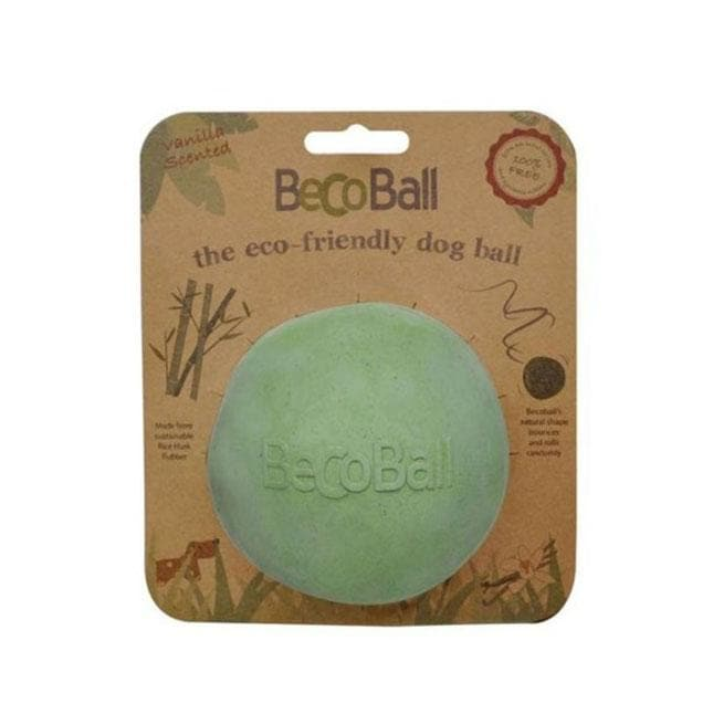 Palla Naturale BecoBall Verde - Becopets - Tabata Shop