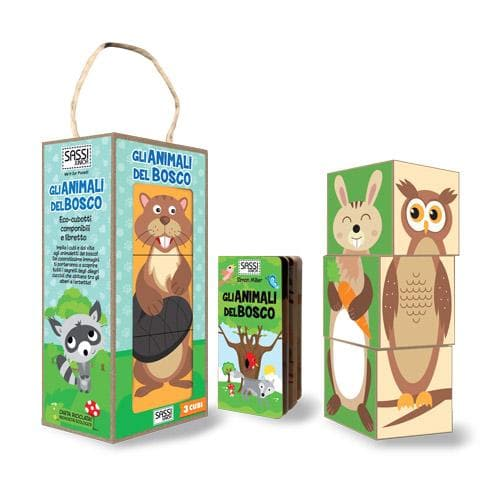 Gli Animali del Bosco - Sassi Junior - Tabata Shop