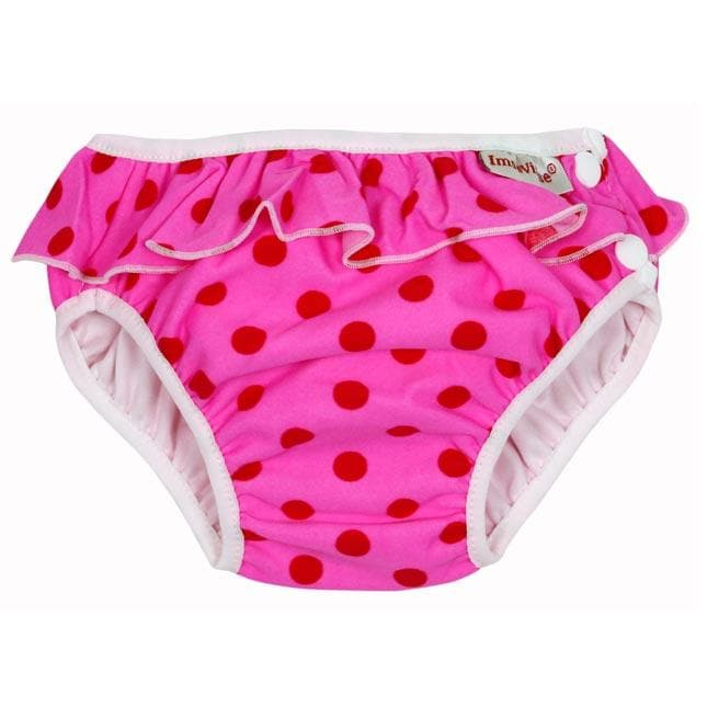 Costume contenitivo Imse Vimse - Pink dots - Tabata Shop