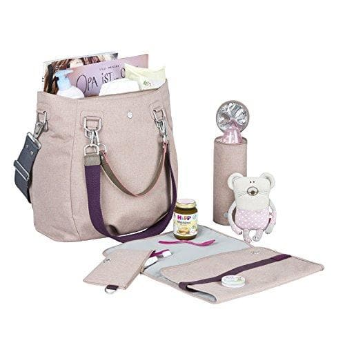 Borsa Fasciatoio Mix'n Match Rose - laessig - Tabata Shop