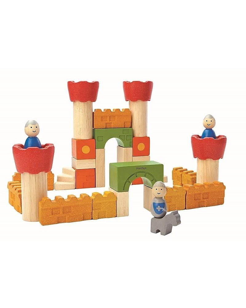 Castle Blocks -  Plan Toys - Tabata Shop