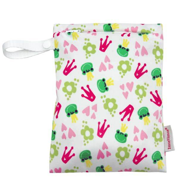 Snack bag con zip Imse Vimse - Kiss the frog - Tabata Shop