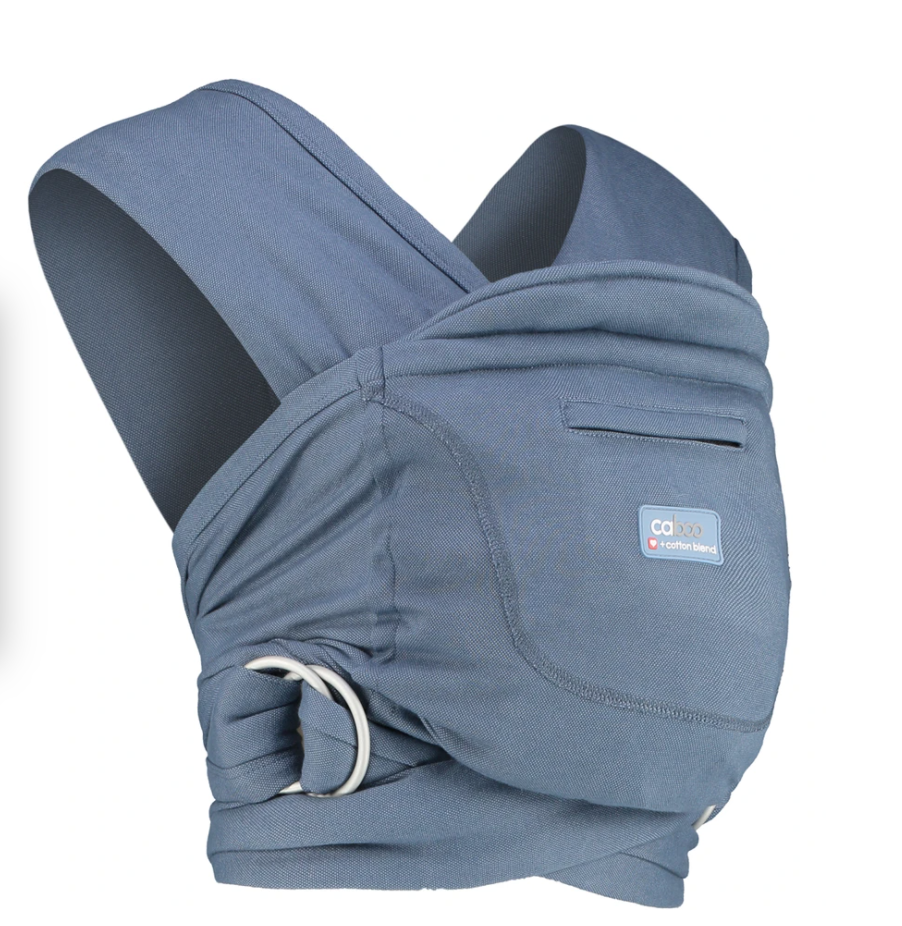 Caboo - Close Baby Carrier Stonewashed - Tabata Shop