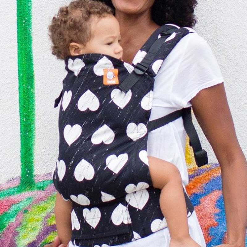 Wild Heart - Toddler Tula Ergonomic Baby Carrier - Tabata Shop