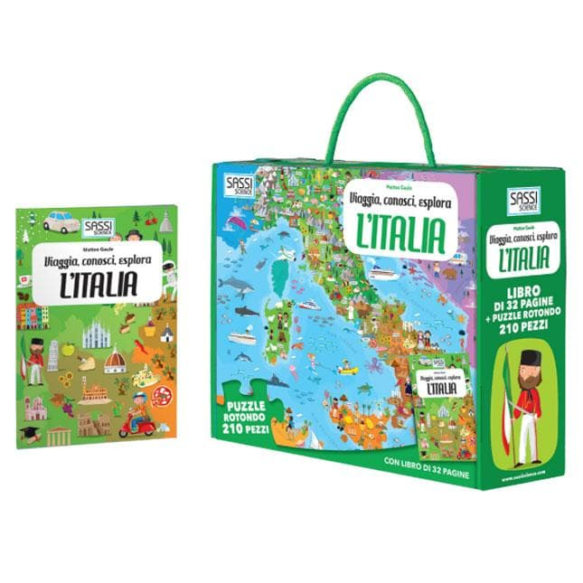 L'Italia, Puzzle - Sassi Junior - Tabata Shop