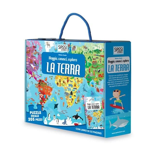 La Terra, Puzzle - Sassi Junior - Tabata Shop