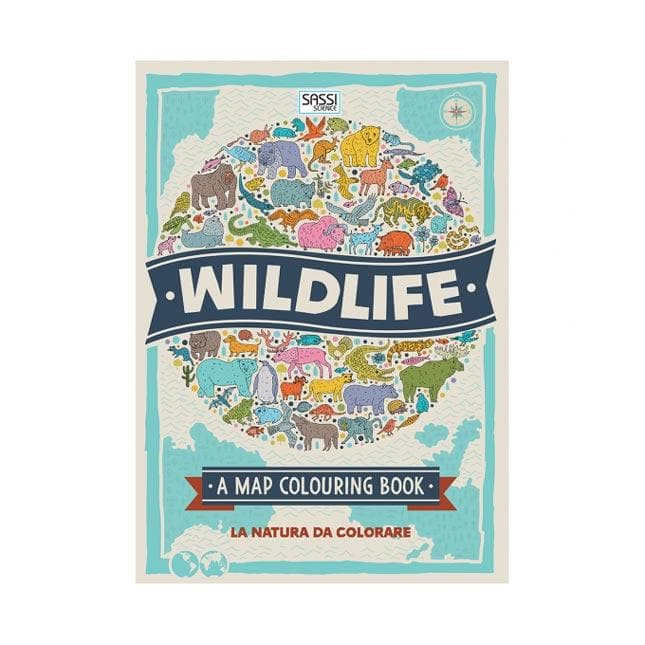 Wildlife, La Natura da Colorare - Sassi Junior - Tabata Shop