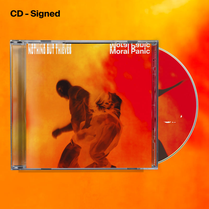 Moral Panic CD - Signed