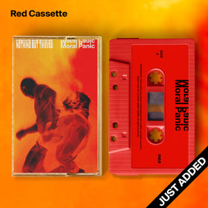 Moral Panic Cassette (Red)