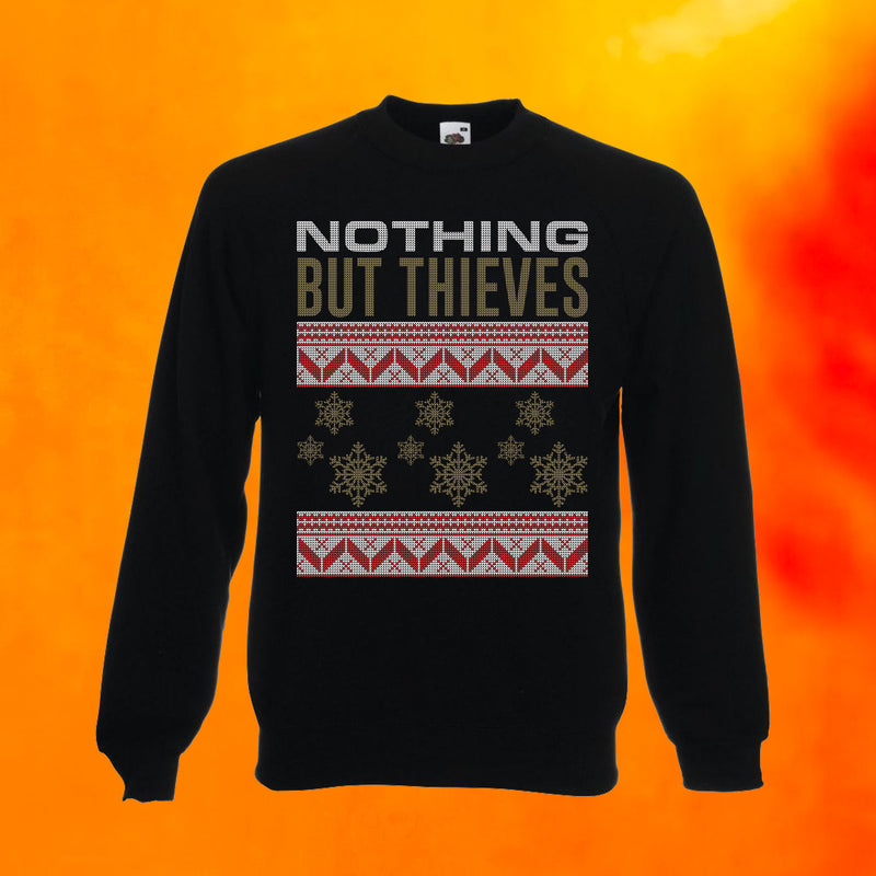 CHRISTMAS SWEATER BLACK (LIMITED EDITION)
