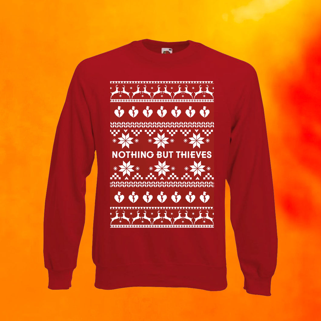 CHRISTMAS SWEATER RED (LIMITED EDITION)