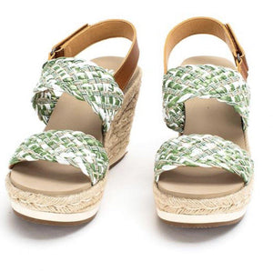 Arula Espadrille Wedge Sandals - The Catalina Rose