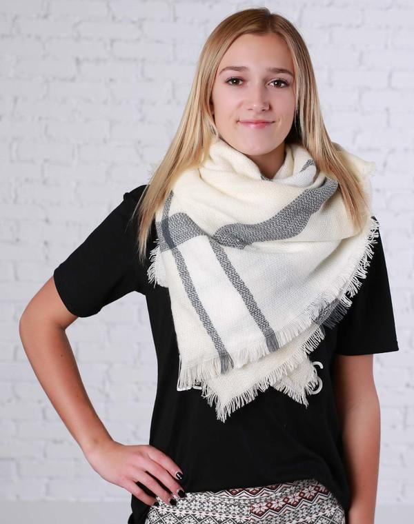 Blanket Scarf - The Catalina Rose
