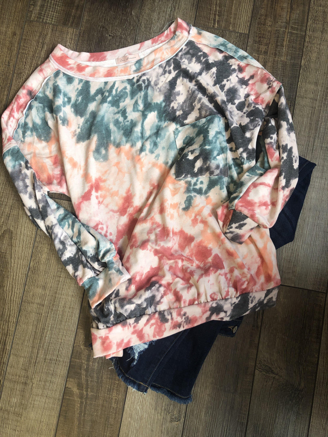 Camilla Tie Dye Top - The Catalina Rose