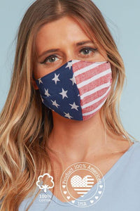 Cotton Poplin Face Mask - The Catalina Rose