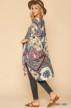 Load image into Gallery viewer, Briana Printed Kimono - The Catalina Rose