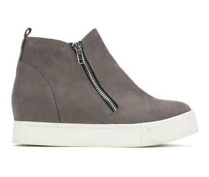 Taylor Wedge Zip Sneaker - The Catalina Rose