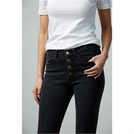 Wells Button Fly Jeans - The Catalina Rose