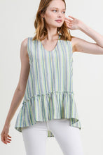Load image into Gallery viewer, Ashton Ruffled Hem Top