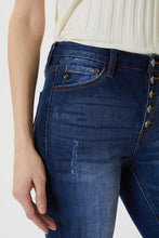 Load image into Gallery viewer, Betty High Rise Button Fly Super Skinny Jeans - The Catalina Rose