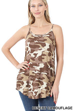 Load image into Gallery viewer, Jet Camo Reversible Cami Top