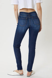 Enid Mid-Rise Basic Super Skinny Jeans - The Catalina Rose
