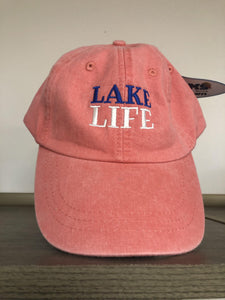 Lake Life Cotton Twill Hat - The Catalina Rose