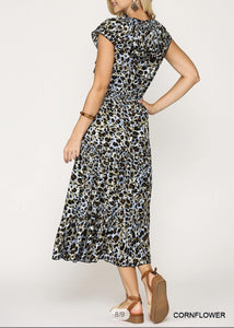 Kennedy Leopard Dress - The Catalina Rose