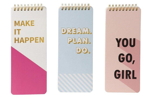 Inspirational Note Pads - The Catalina Rose