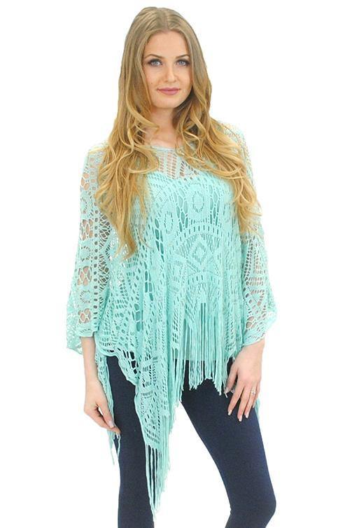 Dream Catcher Poncho - The Catalina Rose