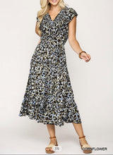 Load image into Gallery viewer, Kennedy Leopard Dress - The Catalina Rose