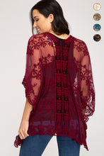 Load image into Gallery viewer, Millie Lace Cardigan