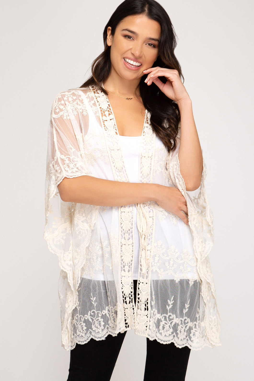 Millie Lace Cardigan