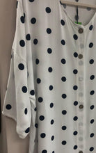 Load image into Gallery viewer, Pokey Polka Dot Top - The Catalina Rose