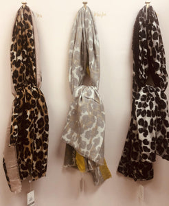 Leopard Scarf - The Catalina Rose