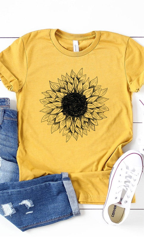 Sunflower Graphic T