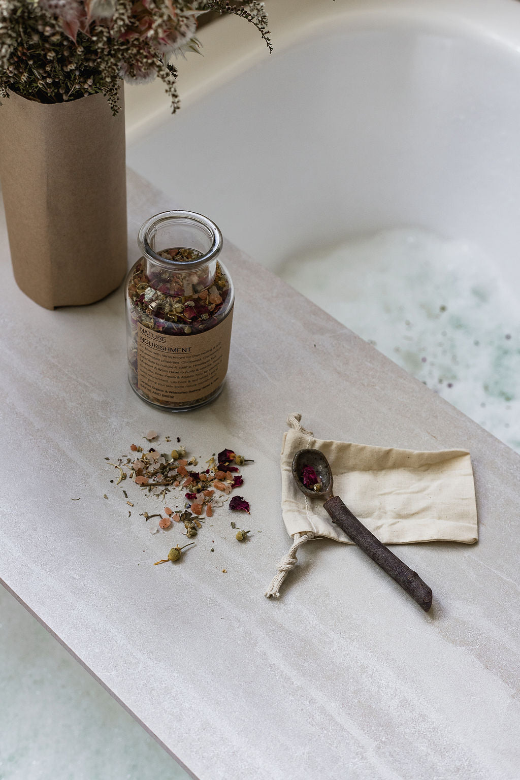 'Nature's Nourishment' Bath Brew