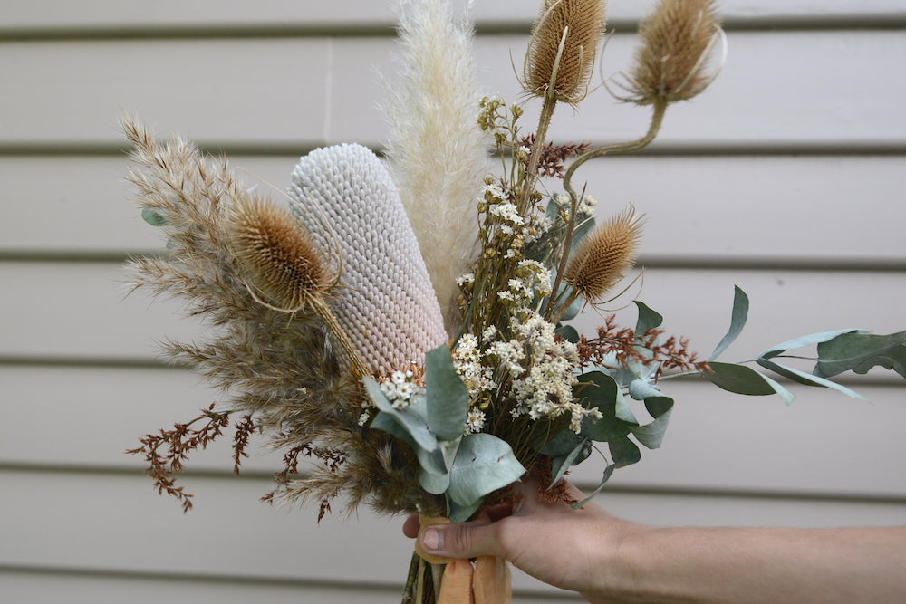 'Desert' Dried Flower Bouquet