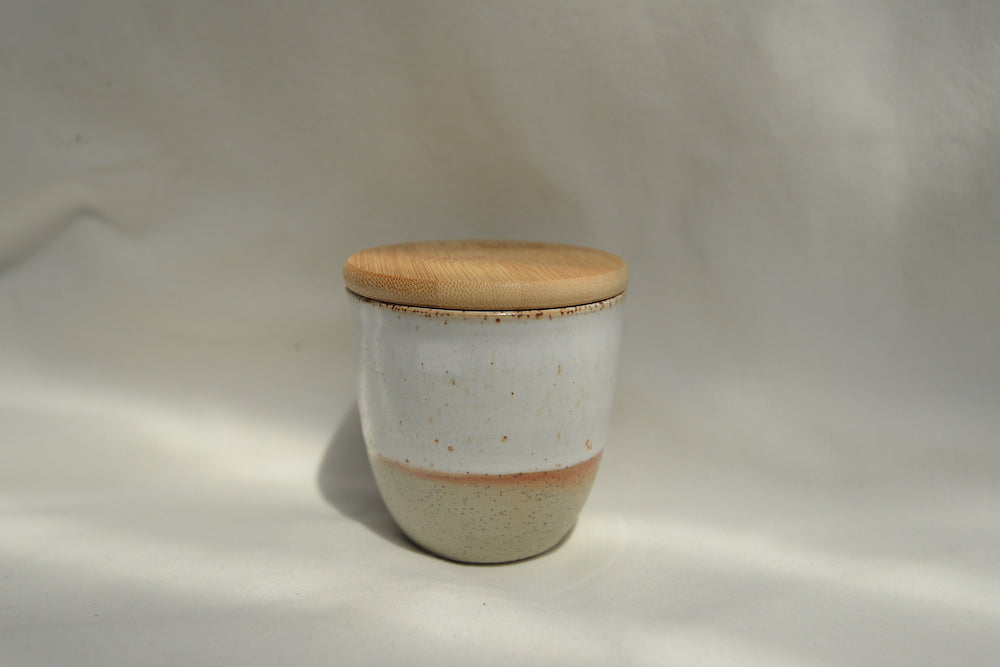 Ceramic Reusable Coffee Cup White