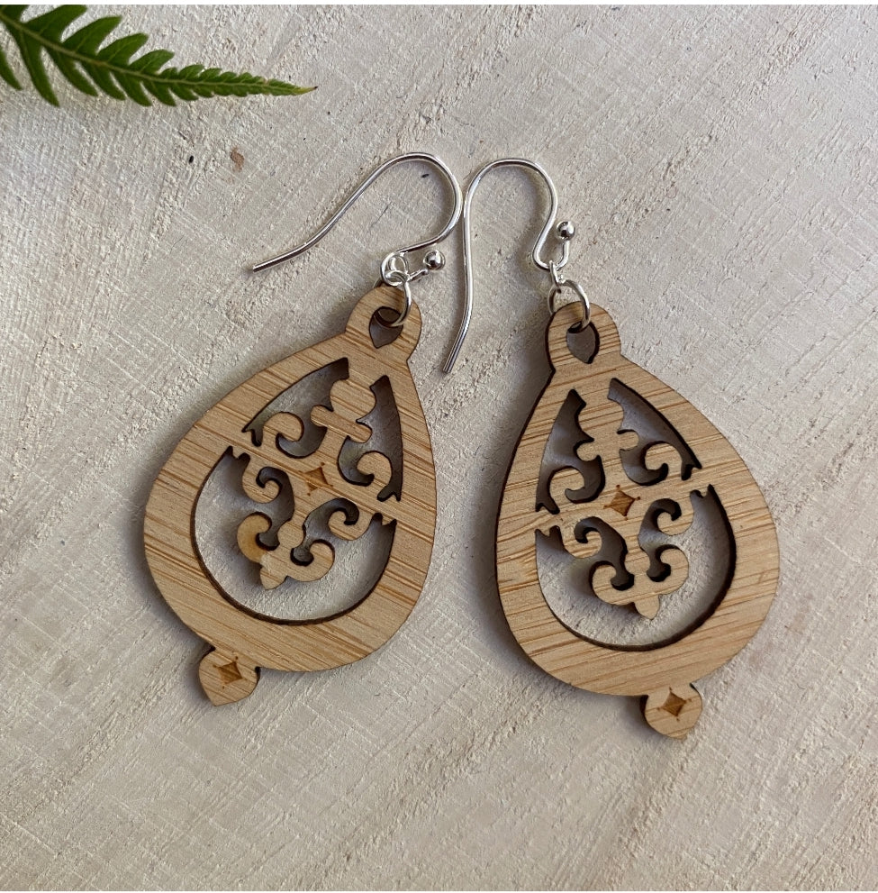 Bamboo Hampshire Earrings