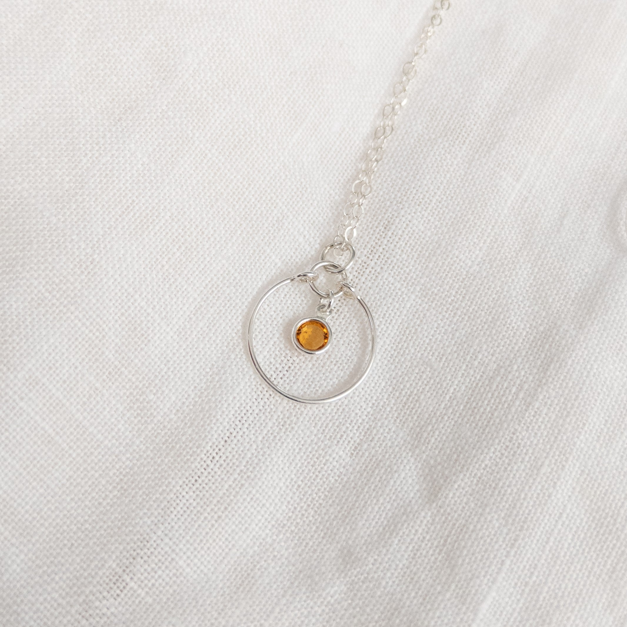 Topaz Gem Necklace