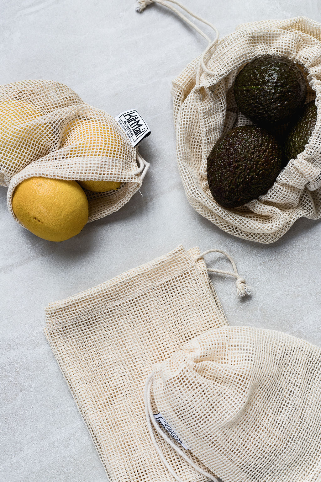 Organic Cotton Produce Bags (Mini)