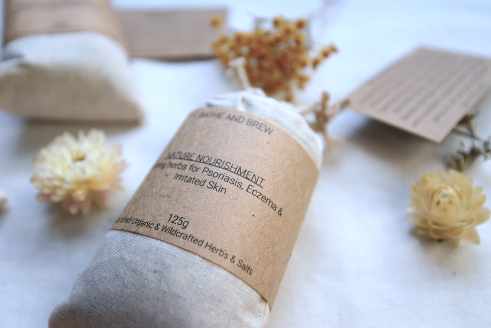 'Nature's Nourishment' Bath Brew Bag