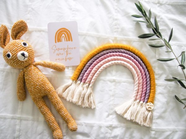 'Floss' Macrame Rainbow