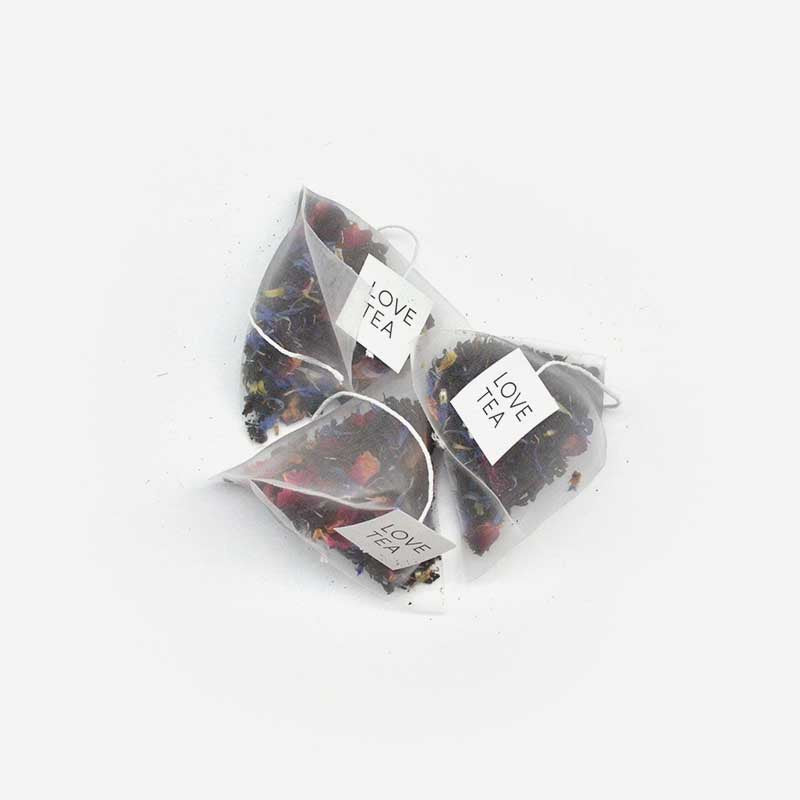 Love Tea-  French Earl Grey Pyramid Tea Bags ( x20 bags )