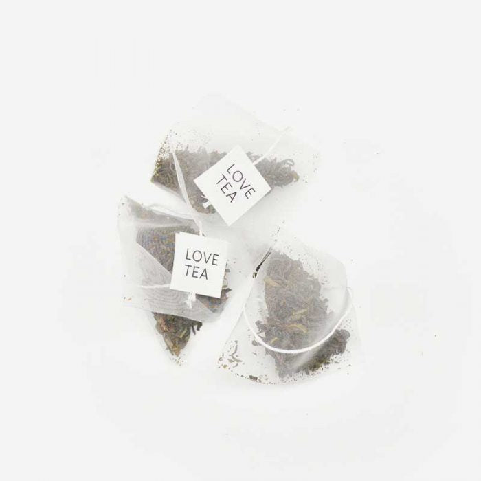 Love Tea- Green Tea Pyramid Tea Bags (x20 bags)