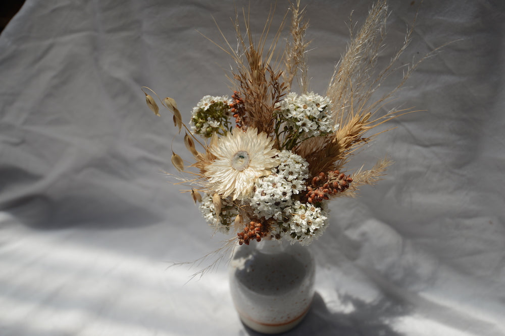 'Wildflower' Posy with Ceramic Bud Vase