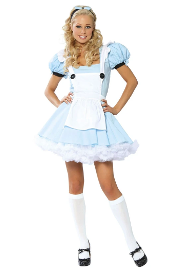 1459 & 4144 - 3PC ALICE COSTUME