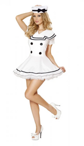 4525 - 2PC SEXY SAILOR MAIDEN COSTUME