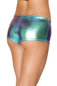 3605 - Multi Lame Metallic Shorts
